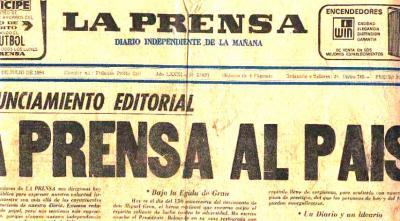 La agonía de La Prensa (Recuerdos de papel 2)