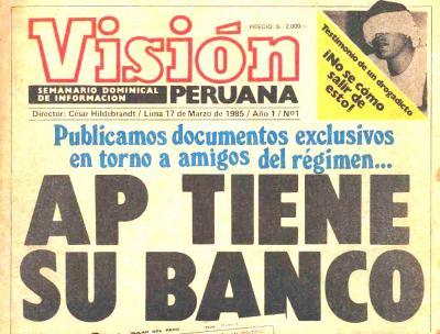 Visión Peruana, el semanario de Hildebrandt (Recuerdos de papel 4)