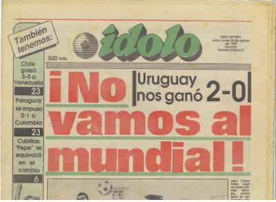 Ídolo, el diario deportivo (Recuerdos de papel 12)