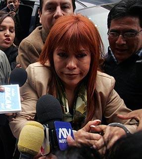 Magaly Medina pasa primera noche en penal