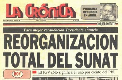 La Crónica, el gran diario popular del siglo XX (Recuerdos de papel 22)