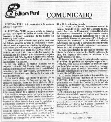 La Crónica II (Recuerdos de papel 23)