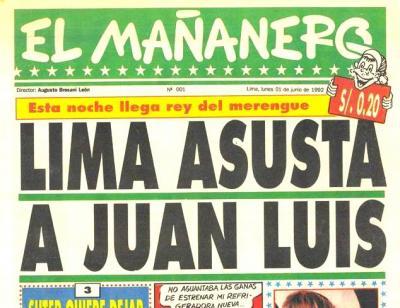 El Mañanero, uno de los diario utilizado por la mafia (Recuerdos de papel 27)